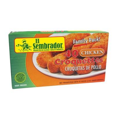 El Sembrador Chicken Frozen Croquettes - 47oz/40ct