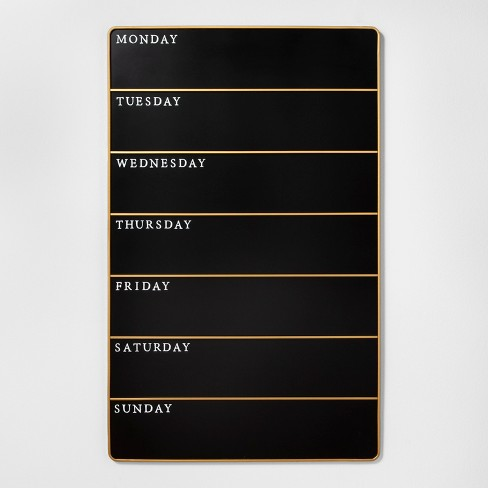 Days of the Week Presentation Chalk Board Large - Hearth & Hand™ with Magnolia - image 1 of 4