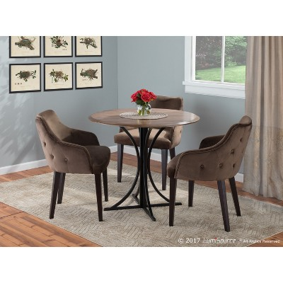 Set Of 2 Eliza Contemporary Dining Chairs   LumiSource : Target