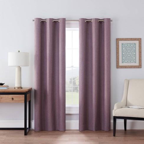 Windsor Light Blocking Curtain Panel - Eclipse - image 1 of 4