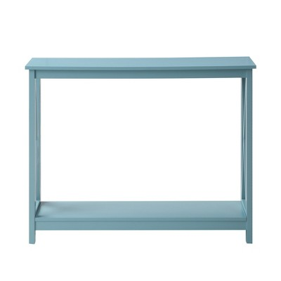 Oxford Console Table Sea Foam Green - Johar Furniture