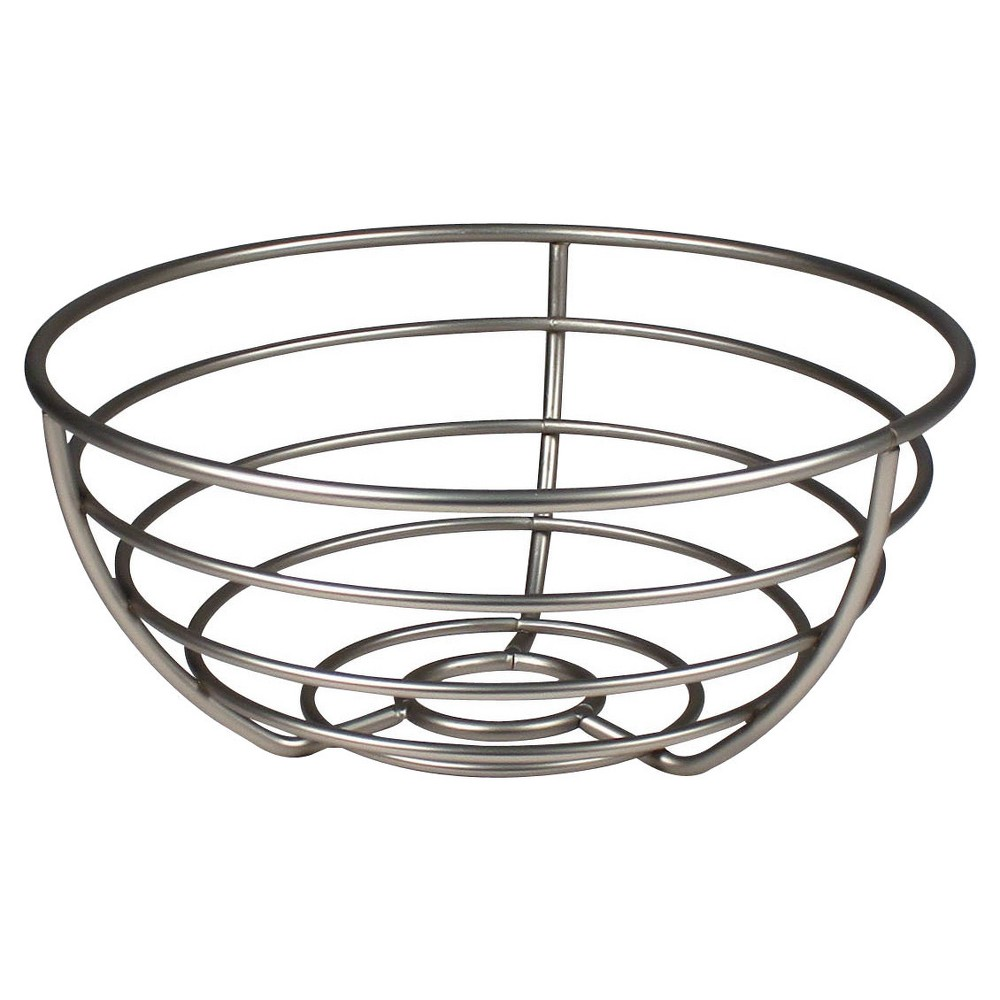 Image of Spectrum Euro Fruit Bowl, Silver