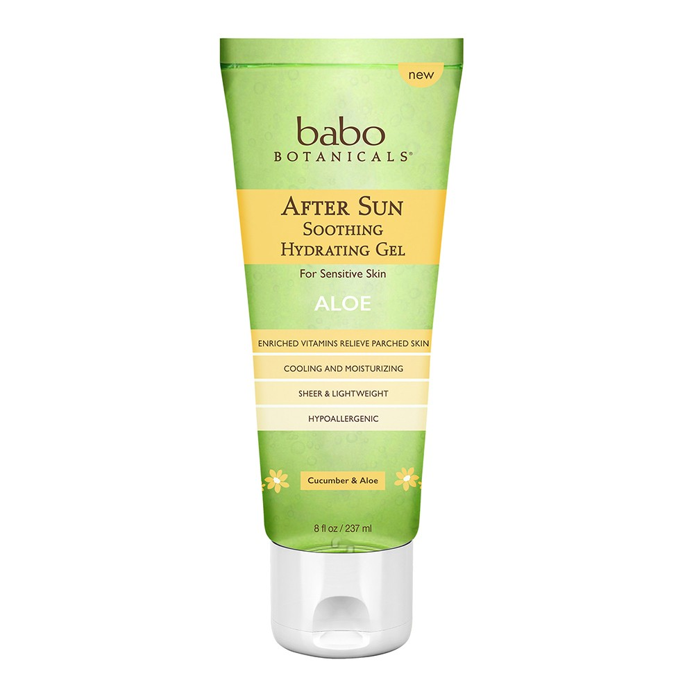 Image of Babo Botanicals Cucumber And Aloe After Sun Treatments - 8 fl oz