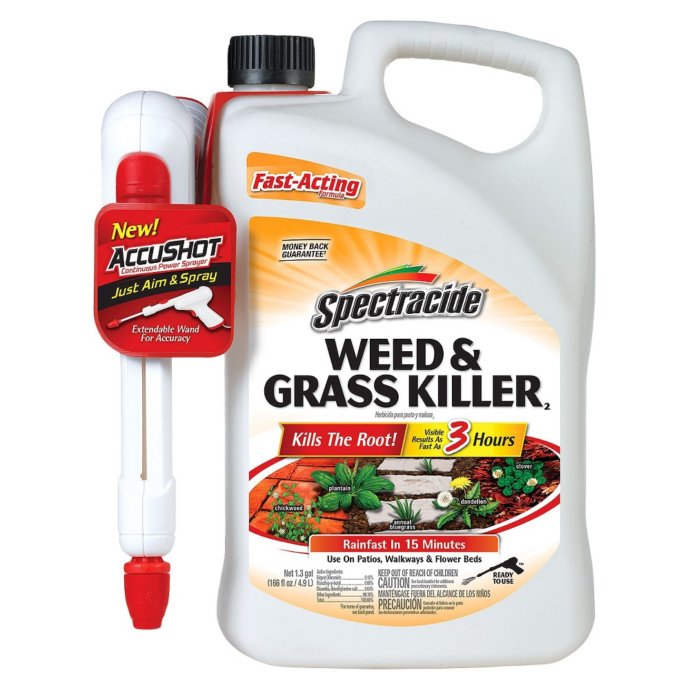 Spectracide Weed & Grass Accushot 1.33 Gallon Ready to Use