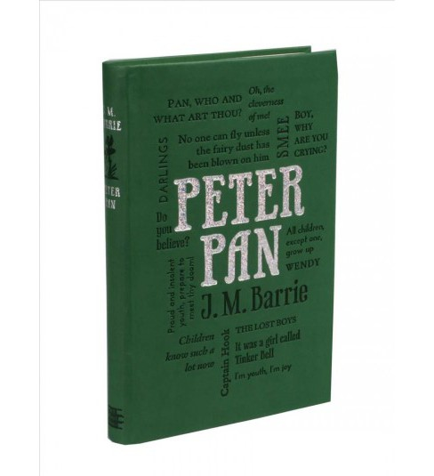 Peter Pan -  (Word Cloud Classics) by J. M. Barrie (Paperback) - image 1 of 1
