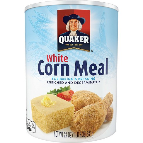 Quaker® White Corn Meal - 24oz - image 1 of 3