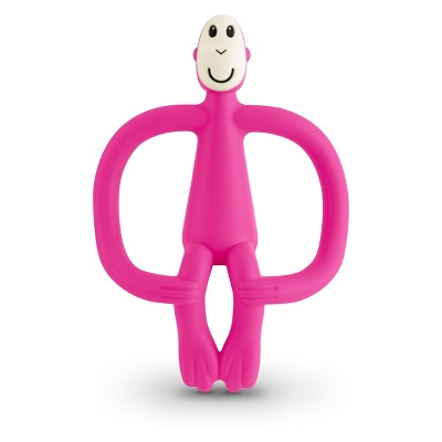 Matchstick Monkey Teething Toy - Pink