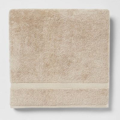 Perfectly Soft Solid Bath Sheet Sandalwood - Opalhouse™