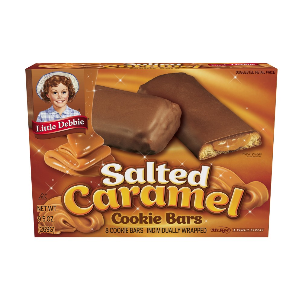 Little Debbie Salted Caramel Cookie Bars - 8ct/9.5oz