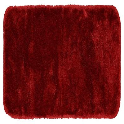 "22""x60"" Finest Luxury Ultra Plush Washable Nylon Bath Runner Chili Pepper Red - Garland"