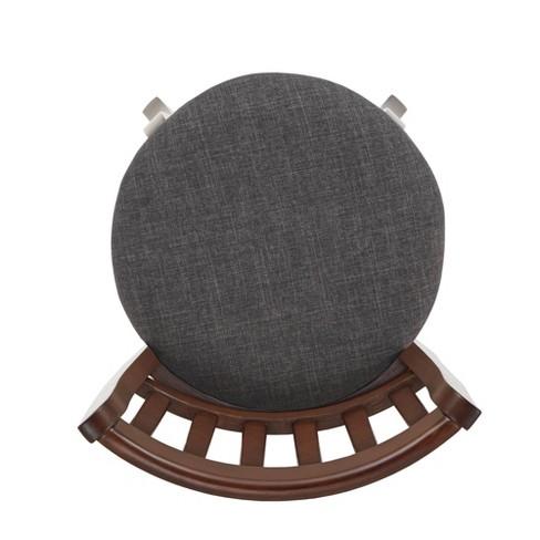 Tremendous 24 Tracee Swivel Counter Stool Charcoal Inspire Q Short Links Chair Design For Home Short Linksinfo