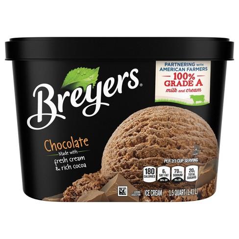 Breyers Original Chocolate Ice Cream - 48oz - image 1 of 4