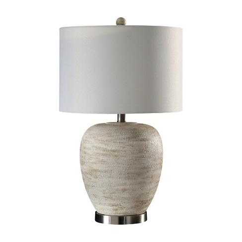 Cooper Ceramic Table Lamp Cream Lamp Only Abbyson Living Target