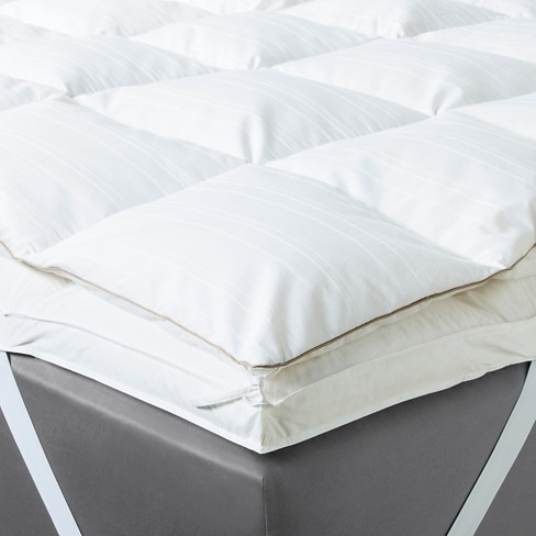 cal king mattress topper Feather Mattress Topper (California King) White   Fieldcrest™ : Target cal king mattress topper