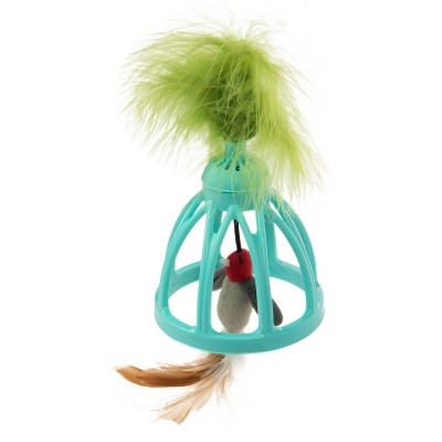 SmartyKat Wobble Wings Electronic Sound Wobble Cat Toy