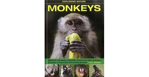 Monkeys : Baboons, macaques, mandrills, lemurs and other primates, all shown in more than 180 exciting - image 1 of 1