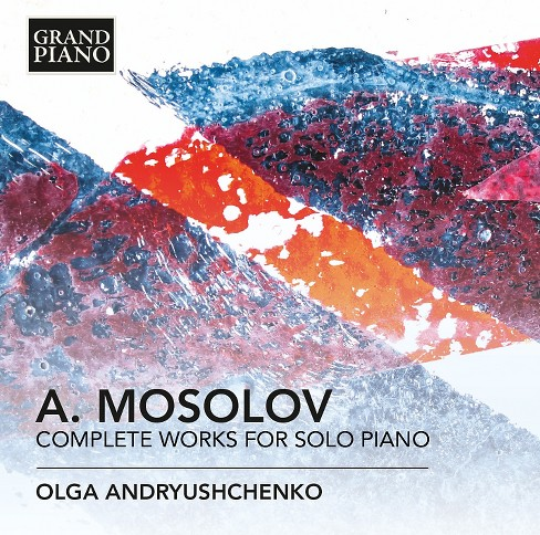 Olga andryushchenko - Mossolov:Complete works for solo pian (CD) - image 1 of 1