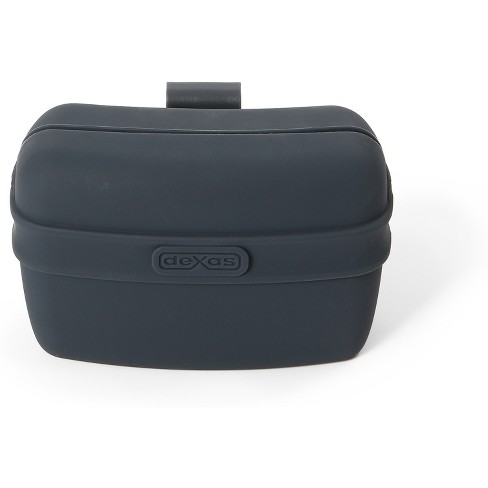 "Dexas Pooch Pouch Clip-On Training Treat Container - Gray (4.6""X2.8""X3.5"") - image 1 of 3"