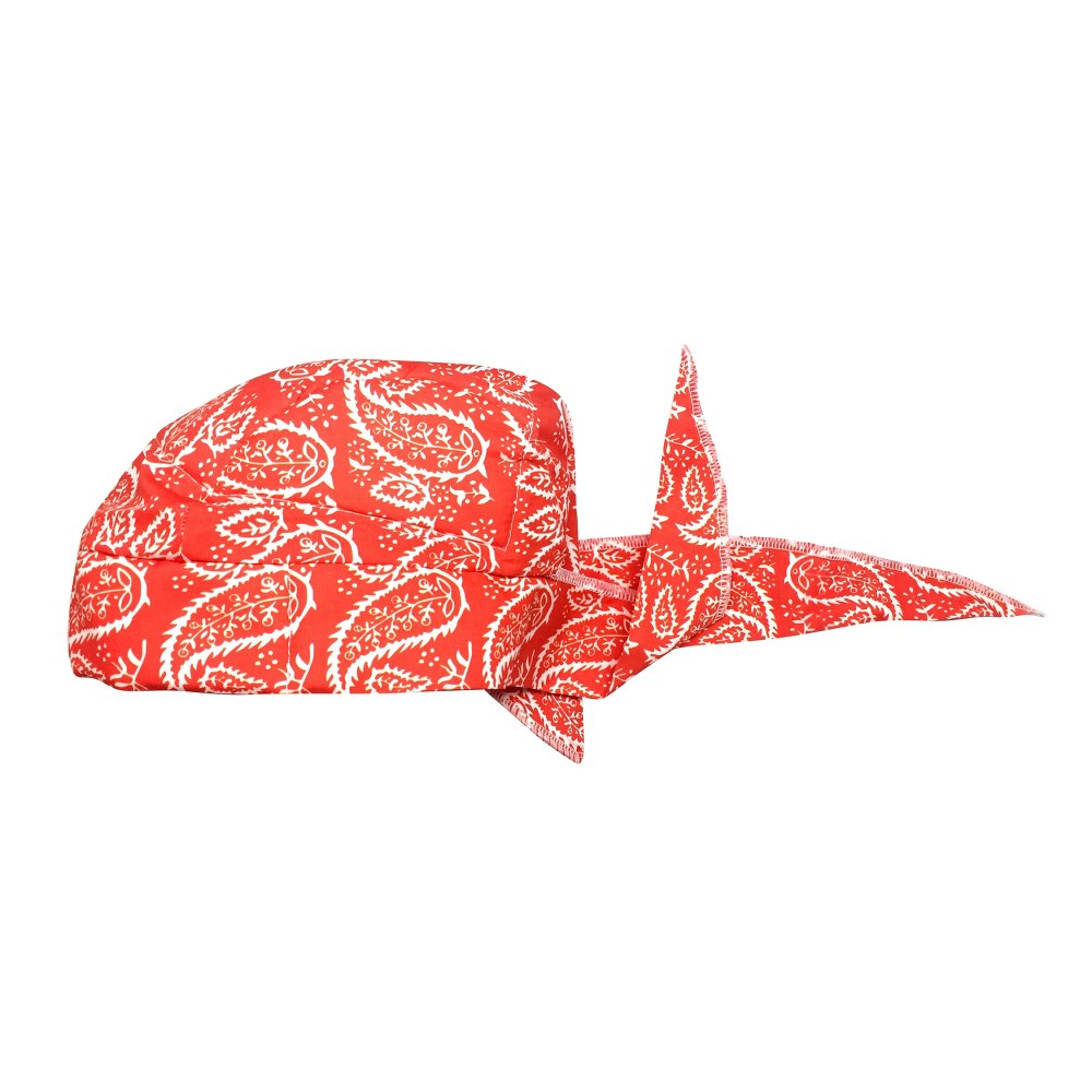 "Image of ""4.5"""" Cotton Gardening Towel Bandana In Retail Box - Red - Sunneday"""