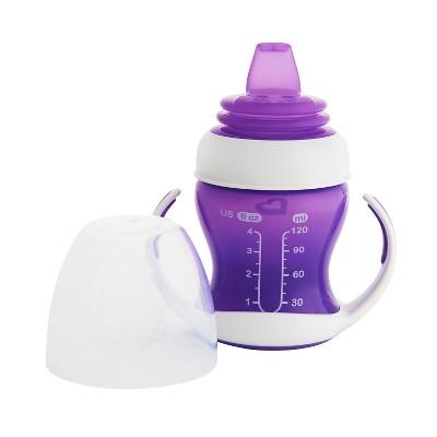 Munchkin Gentle Transition Purple Trainer Cup 4oz