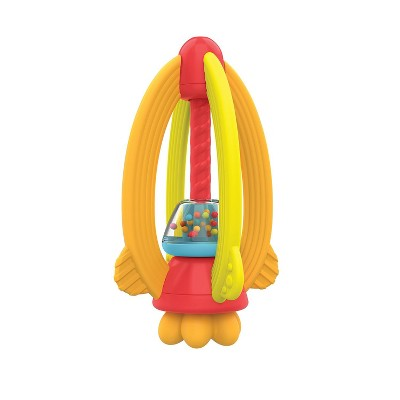 Manhattan Toy My Rocket, Rattle and Teething Toy