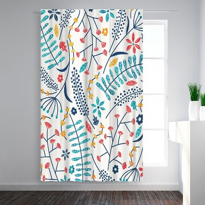 Americanflat Koromiko by Tracie Andrews Blackout Rod Pocket Single Curtain Panel 50x84