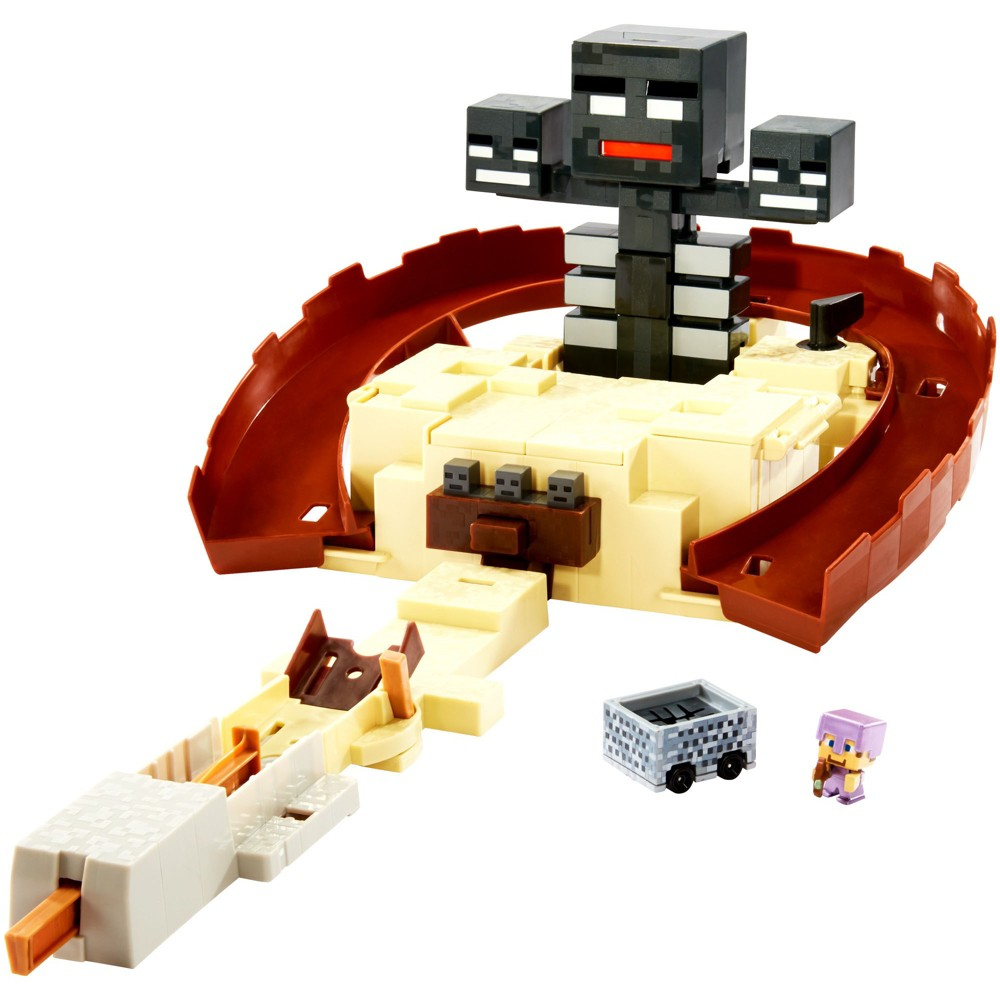 Hot Wheels Minecraft Wither Summon Trackset