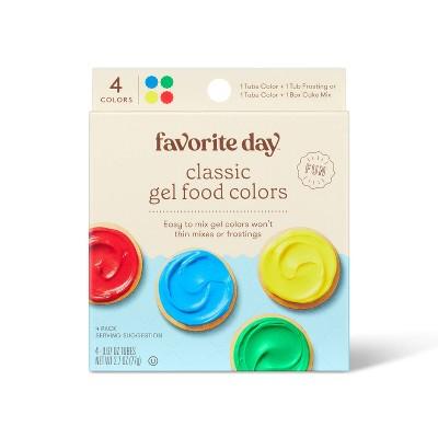 Classic Gel Food Coloring - Favorite Day™