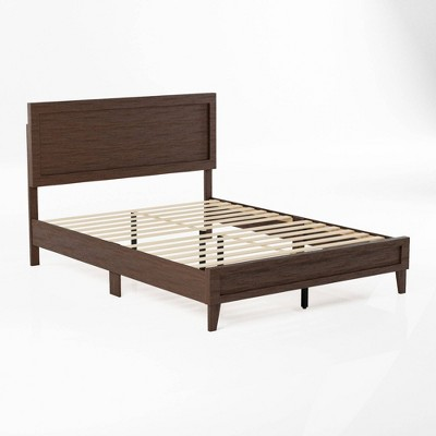 Leah Classic Wood Platform Bed - Brookside Home