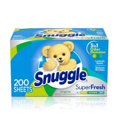 Snuggle Plus SuperFresh Original Fabric Softener Dryer Sheets - 200ct - image 1 of 4
