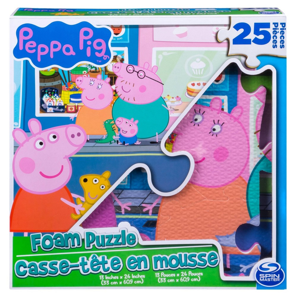 Peppa Pig Foam Puzzle 25pc