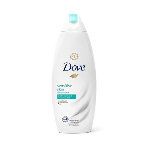 Dove Sensitive Skin Unscented Sulfate Free Body Wash 22 Fl Oz Target