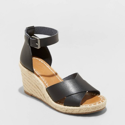 Women's Ellie Espadrille Wedge Heels - Universal Thread™