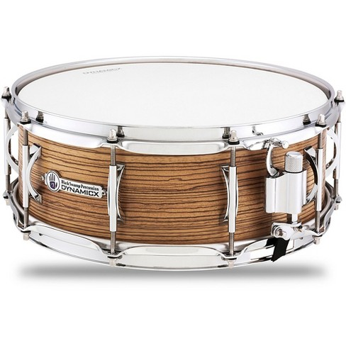 Black Swamp Percussion Dynamicx BackBeat Series Snare Drum with Zebrawood Veneer 14 x 5.5 in. - image 1 of 1