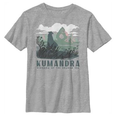 Boy's Raya and the Last Dragon Kumandra Kingdom of the Dragon Sea T-Shirt
