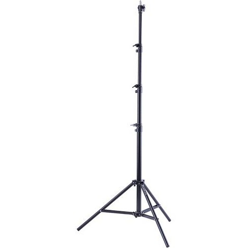 Flashpoint Pro Air-Cushioned Heavy-Duty Light Stand (Black, 9.5') - image 1 of 4