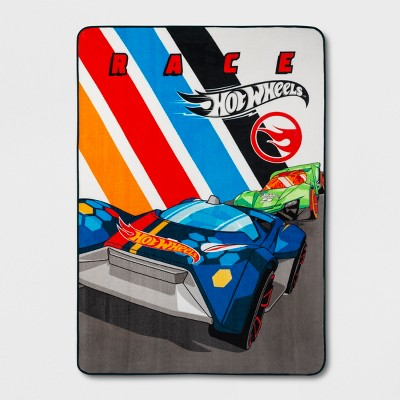 Hot Wheels Twin Size Microfiber Blanket