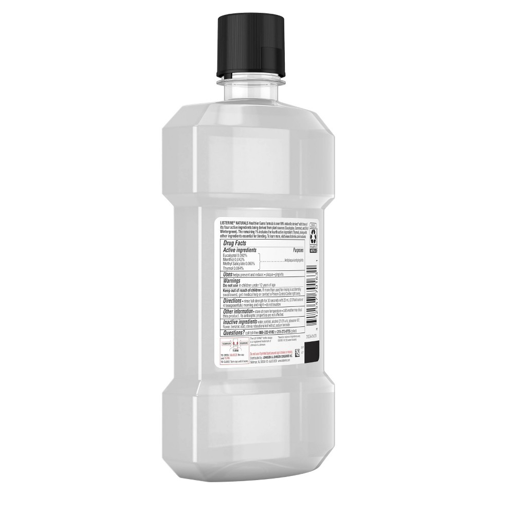 Image of Listerine Naturals Gum Restore Mouthwash - 16.9 fl oz