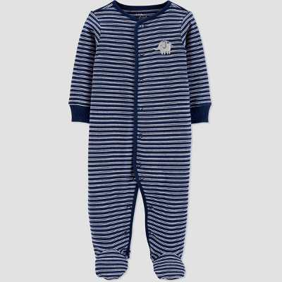 Baby Boys' Sleep N' Play - little planet organic by carter's Navy 6M