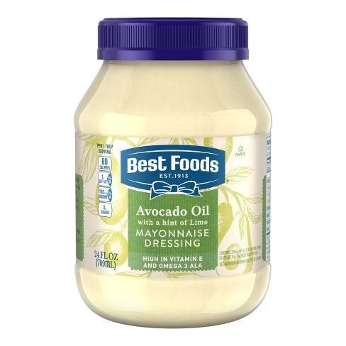 Best Foods Avocado + Lime Mayonnaise Dressing - 24oz - image 1 of 4