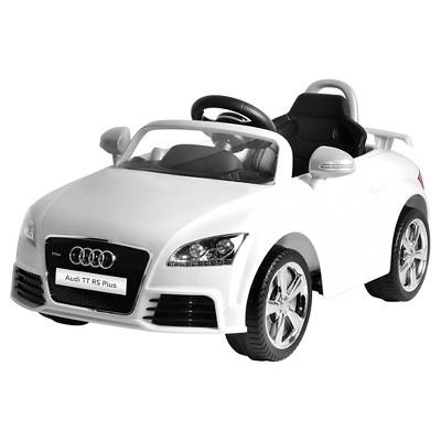 Kid Motorz 6V Audi TT RS Powered Ride-On - White