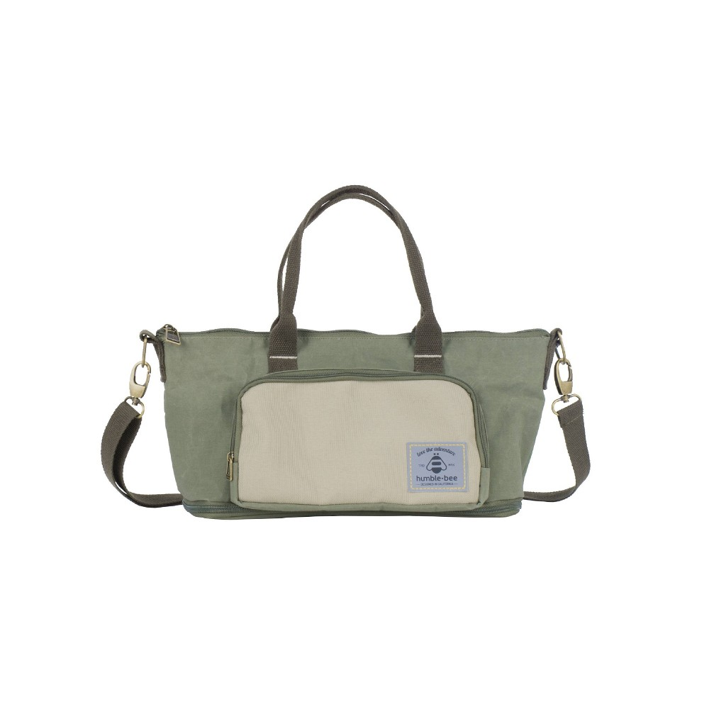 Image of Humble-Bee Mini Charm Diaper Purse/Stroller Organizer - Olive Dusk, Green