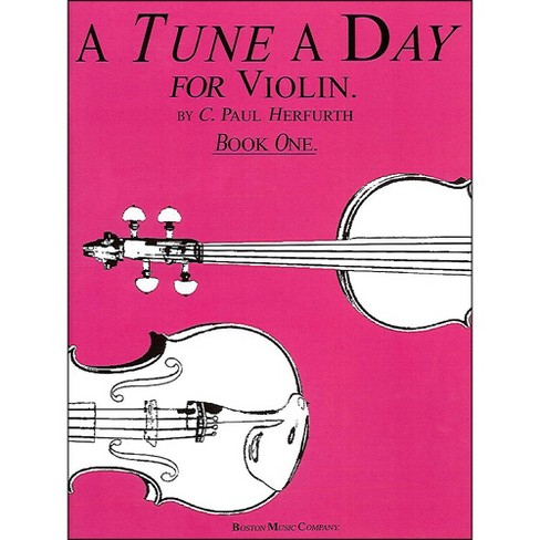 Music Sales Tune A Day Violin Book 1 By Herfurth - image 1 of 1