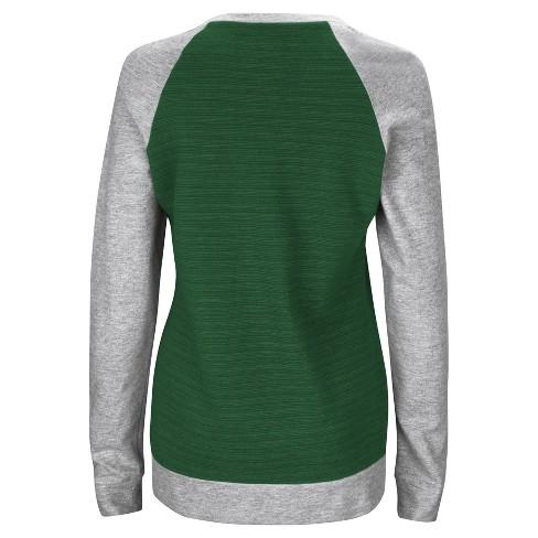 Green Bay Packers Women s Raglan Pullover Sweatshirt   Target beb2a2928