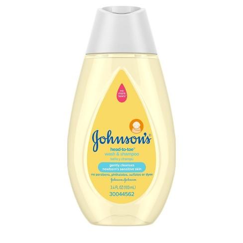 Johnson's Head to Toe Wash - 3.4 fl oz - image 1 of 4