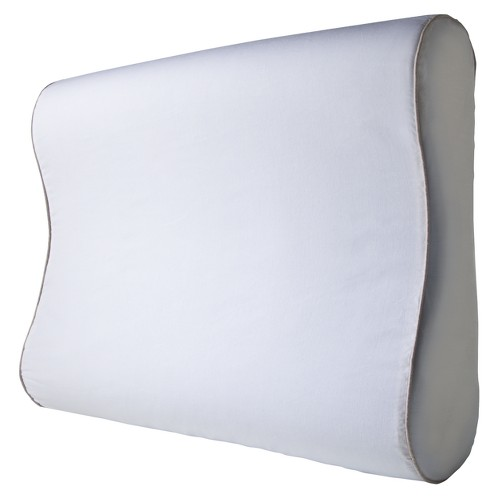 'Sleep Innovations Gel Infused Memory Foam Contour Pillow - White (24''), Size: 24'' x 5'''