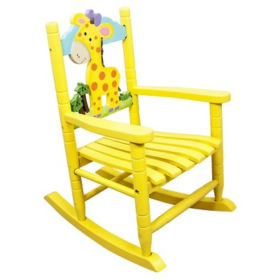 Kids Safari Rocking Chair Giraffe - Teamson