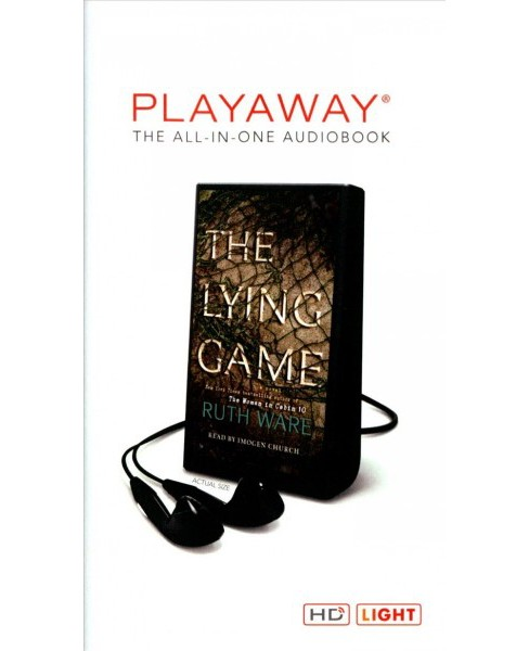Lying Game : Library Edition (Unabridged) (Pre-Loaded Audio Player) (Ruth Ware) - image 1 of 1
