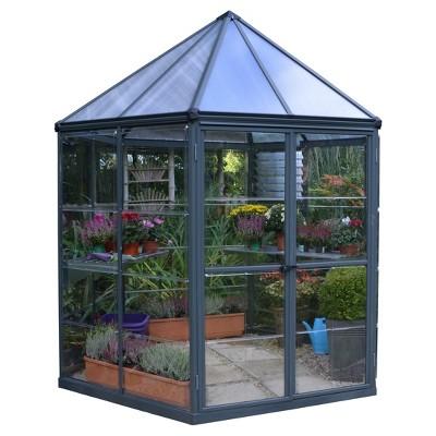 Oasis Hex Greenhouse Gray - Palram