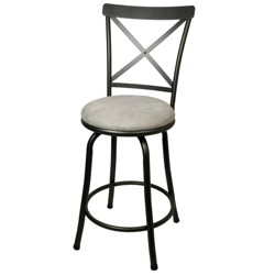 Karson Adjustable Height X Barstool - Cheyenne